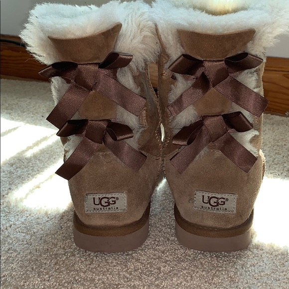 UGG Shoes - Brown Bailey Bow Ugg's